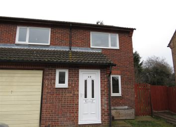 Thumbnail 3 bed semi-detached house to rent in Mallard Way, March
