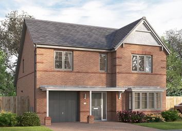"Thumbnail 4 bed detached house for sale in ""The Overbury"" at Chilton, Ferryhill"