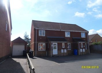 Thumbnail 2 bed end terrace house to rent in Rodber Way, Lowestoft