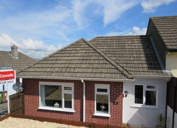 Thumbnail 2 bedroom semi-detached bungalow for sale in Belle Vue Avenue, Plymouth
