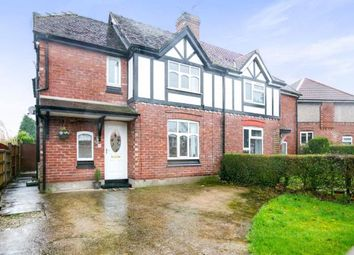 Thumbnail 3 bed semi-detached house for sale in Wallerscote Road, Weaverham, Northwich, Cheshire