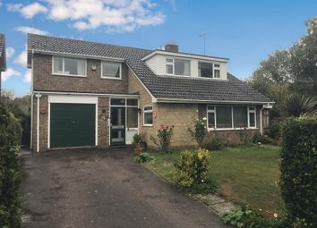 Thumbnail 4 bed detached house for sale in Manor Close, Ryhall, Stamford