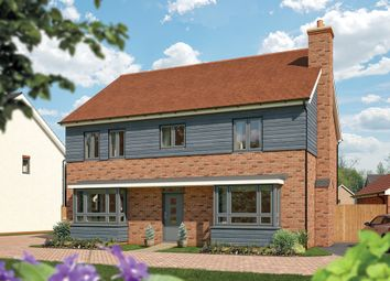 "Thumbnail 5 bed detached house for sale in ""The Lime"" at Fields Road, Wootton, Bedford"