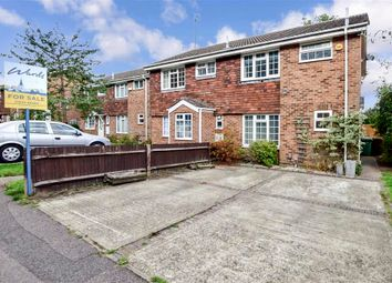 Thumbnail 3 bed semi-detached house for sale in Gleaming Wood Drive, Lords Wood, Kent