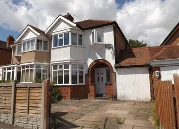 Thumbnail 3 bed semi-detached house for sale in Hatchford Brook Road, Solihull, West Midlands