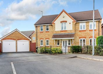 Thumbnail 4 bed detached house for sale in Great Meadow, Tipton, West Midlands