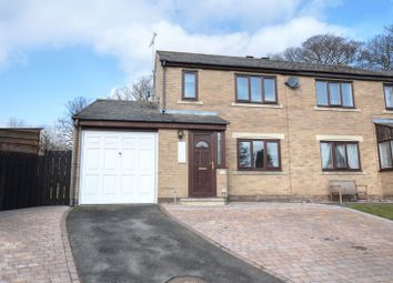 Thumbnail 3 bed semi-detached house for sale in Royal Oak Gardens, Alnwick