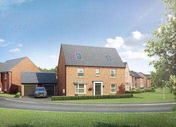 "Thumbnail 5 bedroom detached house for sale in ""Moorecroft"" at Mahaddie Way, Warboys, Huntingdon"