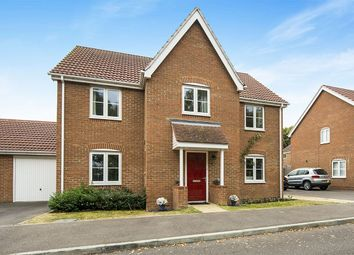 Thumbnail 4 bed detached house for sale in Cranford Close, Rainham, Gillingham