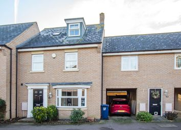 Thumbnail 4 bed terraced house for sale in Bourneys Manor Close, Willingham, Cambridge