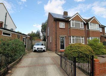 Thumbnail 3 bed semi-detached house to rent in Thistlecroft Road, Hersham, Walton-On-Thames