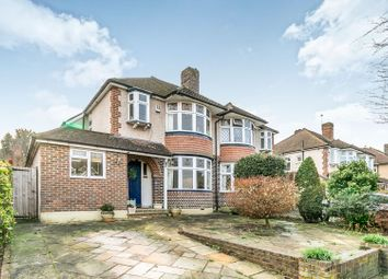 Thumbnail 3 bed semi-detached house for sale in Highdown, Worcester Park