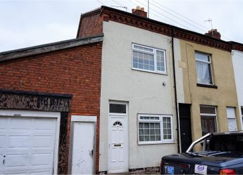 Thumbnail 2 bed end terrace house for sale in Rowan Street, Leicester