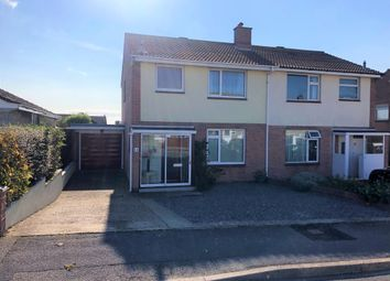 Thumbnail 3 bed semi-detached house for sale in Mandeville Close, Weymouth