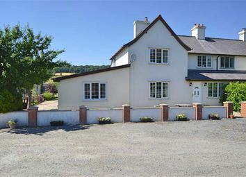 Thumbnail 3 bed semi-detached house for sale in Tanyffordd, Abermule, Montgomery, Powys