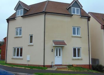 Thumbnail 4 bed detached house to rent in Treacle Mine Road, Wincanton
