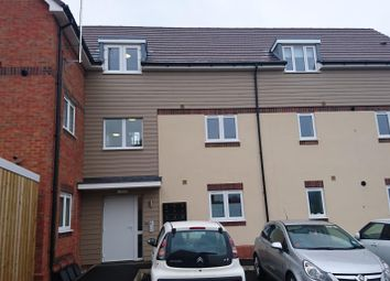 Thumbnail 2 bed flat to rent in Edison Drive, Rugby
