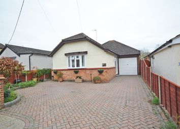 Thumbnail 4 bed detached bungalow for sale in Westlake Avenue, Bowers Gifford, Basildon