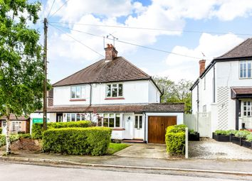 Thumbnail 2 bed semi-detached house to rent in Poplar Avenue, Windlesham