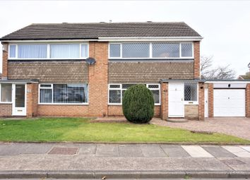 Thumbnail 3 bed semi-detached house for sale in Cranswick Drive, Middlesbrough