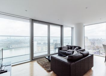 Thumbnail 2 bed flat to rent in Landmark West Tower, London, London