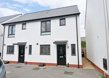 Thumbnail 2 bed semi-detached house to rent in Milbury Farm Meadow, Exminster, Exeter