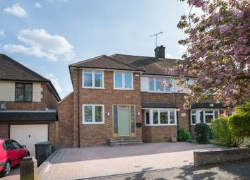 Thumbnail 4 bedroom semi-detached house for sale in The Ridgeway, St.Albans