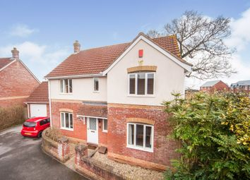 Thumbnail 4 bed detached house for sale in North Villas, Cotford St. Luke, Taunton