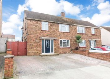 Thumbnail 3 bed semi-detached house for sale in St. Gregorys Crescent, Gravesend, Kent