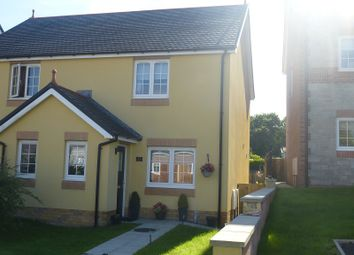 Thumbnail 2 bed semi-detached house for sale in Parc Yr Hendre, Tycroes, Ammanford, Carmarthenshire.