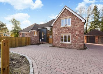 Thumbnail 5 bedroom detached house for sale in The Glen, Pamber Heath
