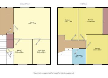 Thumbnail 3 bed semi-detached house for sale in Balunie Avenue, Broughty Ferry, Dundee