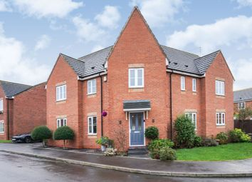Thumbnail 5 bed detached house for sale in Railway Close, Market Drayton