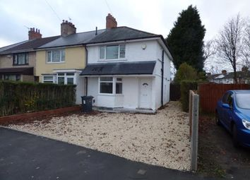 Thumbnail 3 bed property for sale in Wold Walk, Billlesley, Birmingham, West Midlands
