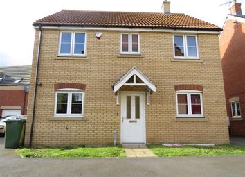Thumbnail 4 bed detached house for sale in Whitby Avenue, Eye, Peterborough