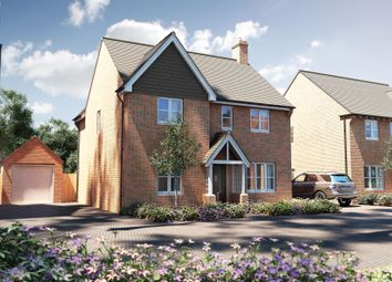 "Thumbnail 4 bed detached house for sale in ""The Berrington"" at Winchester Road, Boorley Green, Botley"