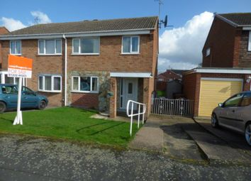 Thumbnail 3 bed semi-detached house for sale in Moy Avenue, Sinfin, Derby