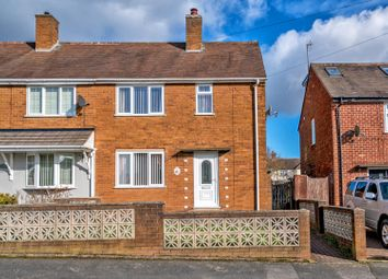 Thumbnail 3 bed semi-detached house for sale in Wilcox Avenue, Hednesford, Cannock