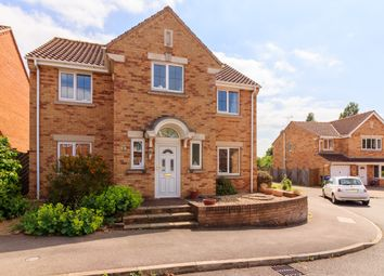 Thumbnail 4 bed detached house for sale in Pingle Close, Gainsborough