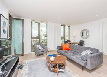 Thumbnail 1 bed flat for sale in Commodore House, 8 Admiralty Avenue, London