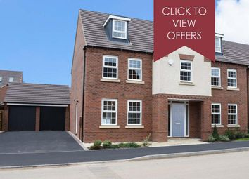 """Thumbnail 5 bed detached house for sale in """"Lichfield"""" at Tamora Close, Heathcote, Warwick"""
