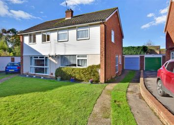 Thumbnail 3 bedroom semi-detached house for sale in Lime Close, Uckfield, East Sussex