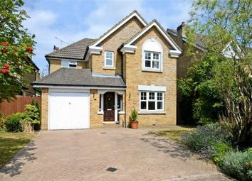 Thumbnail 4 bed detached house to rent in Darracott Close, Camberley, Surrey