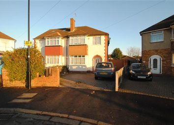 Thumbnail 3 bed semi-detached house for sale in Benedict Drive, Bedfont, Feltham