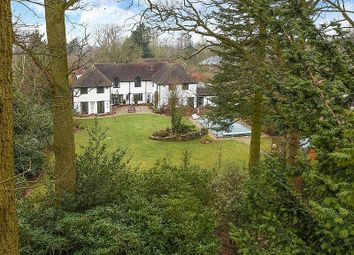 Thumbnail 5 bedroom detached house for sale in West Drive, Sonning, Reading