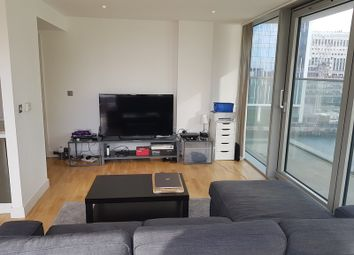 Thumbnail 2 bed flat to rent in Landmark West Tower, 22 Marsh Wall, London, Greater London.