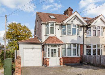 Thumbnail 4 bed semi-detached house for sale in Sutton Common Road, Sutton, London