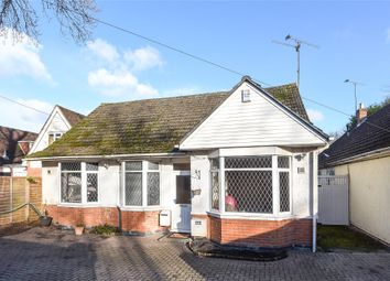 Thumbnail 3 bed detached bungalow for sale in Reading Road, Winnersh, Berkshire