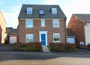 Thumbnail 5 bedroom detached house to rent in Burdock Gardens, Northampton