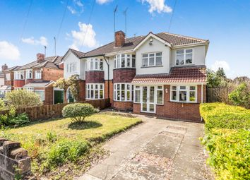 Thumbnail 5 bed semi-detached house for sale in Wells Green Road, Solihull